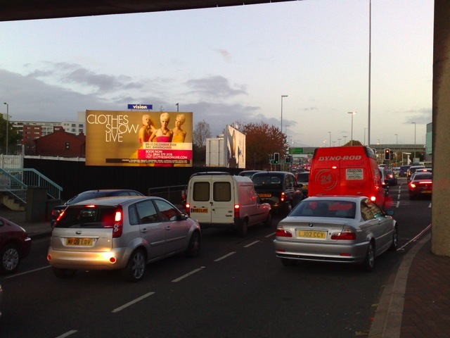 Clothes Show Billboard Advertising