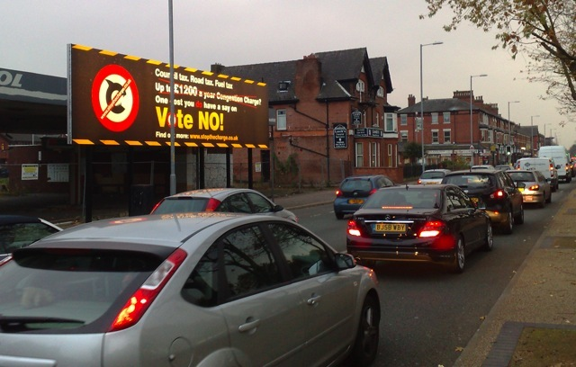 Congestion Charge Billboard Advertising