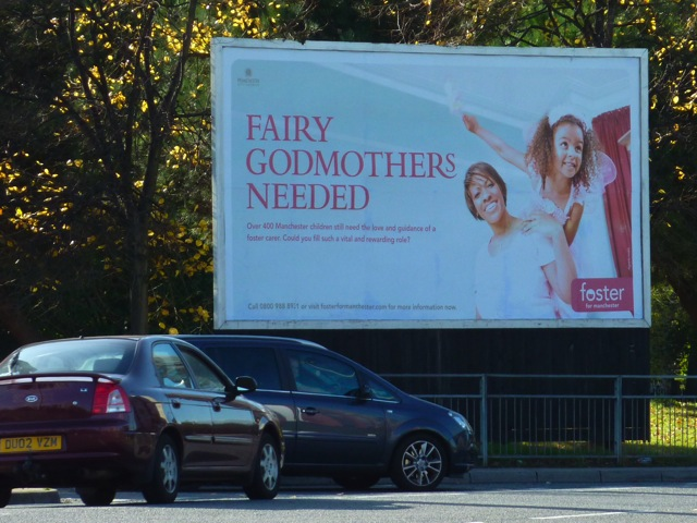 Manchester Foster Care Billboard Advertising
