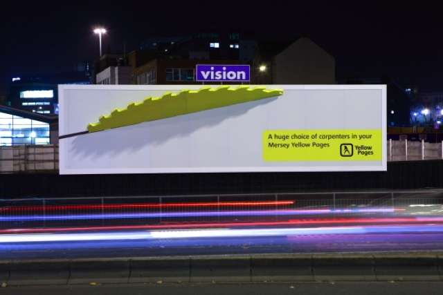 Yellow Pages Billboard Advertising