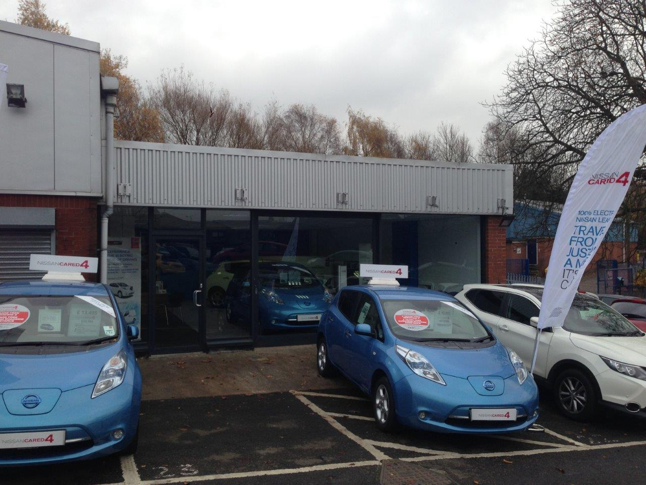 Westway Nissan Electric Vehicle Centre Before
